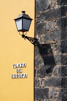 Free Street Lamp Stock Photography - 2530892