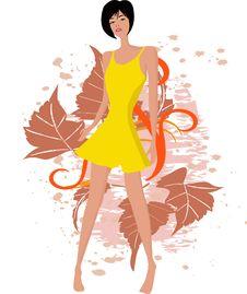 Free Woman - Vector Stock Image - 2532131