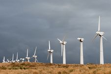 Free Wind Power Turbines Stock Images - 2532274