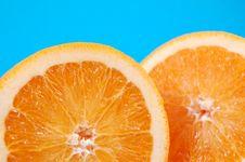 Free Orange Halves Stock Photo - 2533790