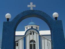 Free Greek Church Stock Photo - 2534190