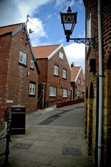 Whitby Back Streets Stock Photo