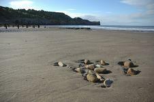Free Sandsend Beach Royalty Free Stock Photography - 2535467