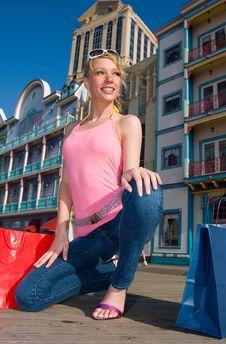 Shopping Spree Stock Photography
