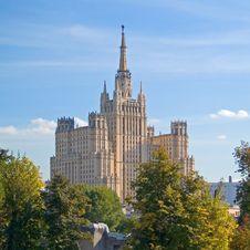 Free Soviet Skyscraper Stock Images - 2535614