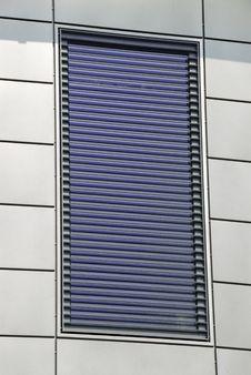 Metal Facade Window Stock Photos