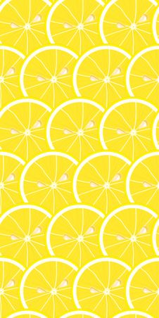 Free Seamless Lemony Wallpaper Royalty Free Stock Photography - 2535767