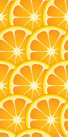 Free Seamless Citrus Wallpaper Stock Images - 2535774