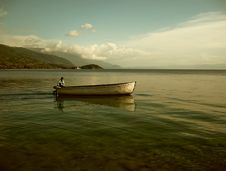 Free Lonely Ferryman Stock Photo - 2536930
