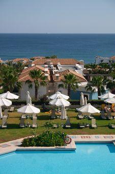 Seaside Resort Stock Photography