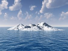 Free Iceberg Stock Photography - 2539382