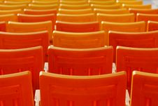 Free Row Of Chairs Royalty Free Stock Image - 2539566