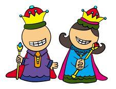 Free Royal Folks Royalty Free Stock Photo - 25301345