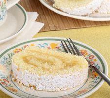 Free Lemon Cake Roll Royalty Free Stock Photo - 25302235