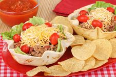 Free Taco Salad Royalty Free Stock Images - 25302289