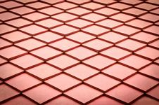 Red Roof Texture Royalty Free Stock Photography