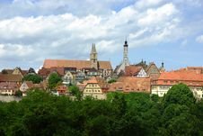 Free Rothenburg Royalty Free Stock Image - 25304286