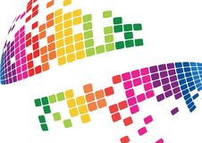 Free Mosaic Abstract Bright Background Vector Royalty Free Stock Photos - 25305678