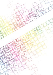 Free Mosaic Abstract Bright Background Vector Stock Photo - 25305740