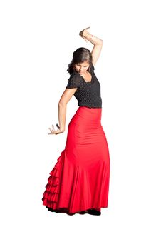 Free Flamenco Dancer Stock Photography - 25306522