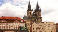 Free Old Town Square, Prague Royalty Free Stock Photo - 25310965
