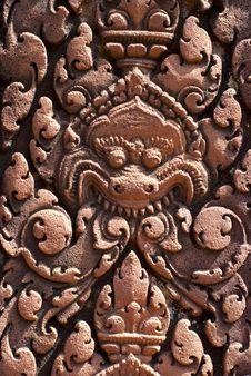 Free Banteay Srei - Details Stock Image - 25314131