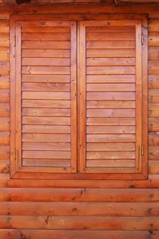 Free Closed Wooden Window Royalty Free Stock Image - 25314476