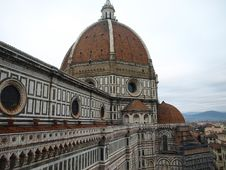 Free Florence Cathedral Stock Image - 25315301