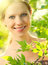 Free Face Of Beauty Girl In Nature Royalty Free Stock Photography - 25318807