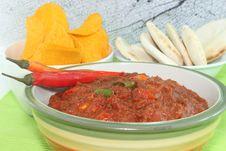 Free Spicy Tomato Sauce Stock Photo - 25321550