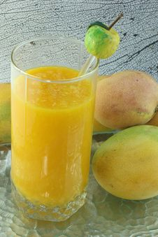 Free Mango Drink Stock Photo - 25321610