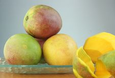 Free Mango Salad Stock Photos - 25321703