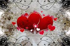 Free Decorative Heart Design Stock Photo - 25325370