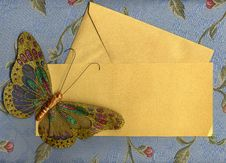 Free Butterfly Fabric On Textiles 4 Royalty Free Stock Images - 25327079
