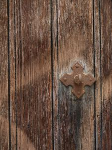 Free Old Door Detail Royalty Free Stock Image - 25328796