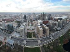 Free Aerial View Of The City Of Saint Louis, Missouri Stock Images - 25328954