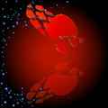Free Abstract Background With Puzzle Heart. Royalty Free Stock Photos - 25334038