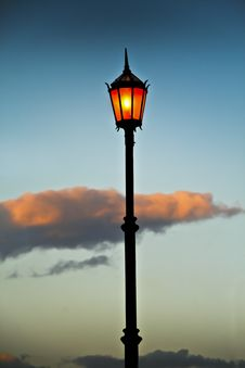 Free Streetlamp. Royalty Free Stock Photos - 25339928