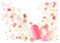 Free Beautiful Valentine Vector Card And Frame Stock Photo - 25340670