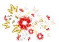 Free Floral Design Element Royalty Free Stock Photo - 25340755