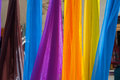 Free Colorful Scarves Hanging Royalty Free Stock Image - 25344046