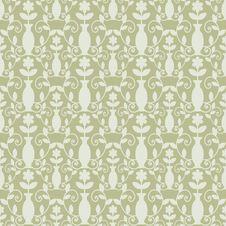 Free Grey Damask Pattern Royalty Free Stock Photos - 25344288