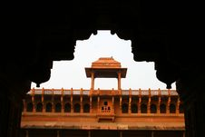 Architecture Of The Red Fort Agra, India Royalty Free Stock Image