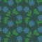 Free Blue Flowers Pattern Royalty Free Stock Photo - 25344285