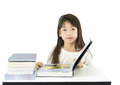Free Young Student Reading The Book Royalty Free Stock Images - 25359019