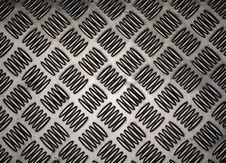 Pattern Style Of Steel Floor Royalty Free Stock Photo
