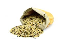 Free Mixed Of Organic Rice Royalty Free Stock Image - 25355646