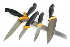 Free Kitchen Knives Royalty Free Stock Image - 25355826