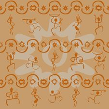Free African Pattern Royalty Free Stock Images - 25356519