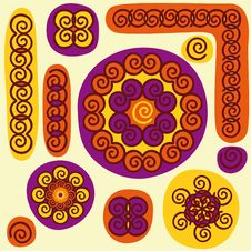 Free African Pattern Royalty Free Stock Image - 25356706